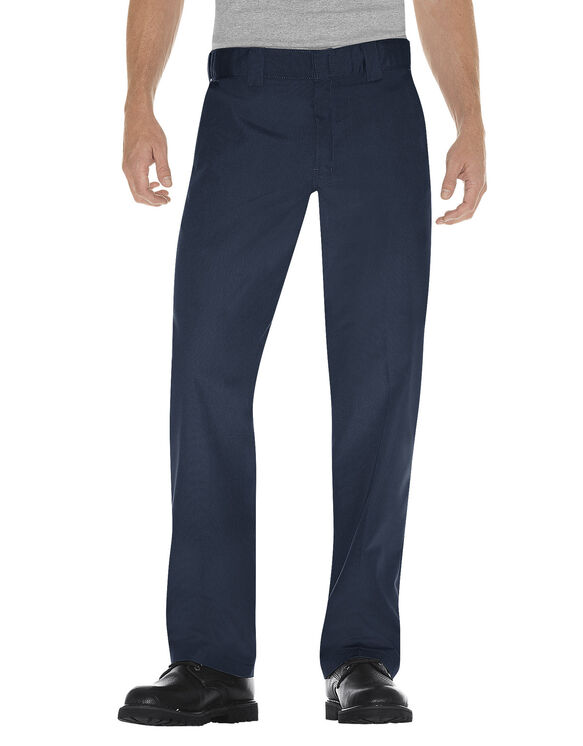 Regular Fit Poplin Work Pant - DARK NAVY (DN)