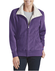 Women's Sherpa Bonded Fleece Jacket - PETUNIA (UN)