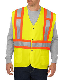 High Visibility ANSI Solid Vest, Class 2 - ANSI YELLOW (AY)