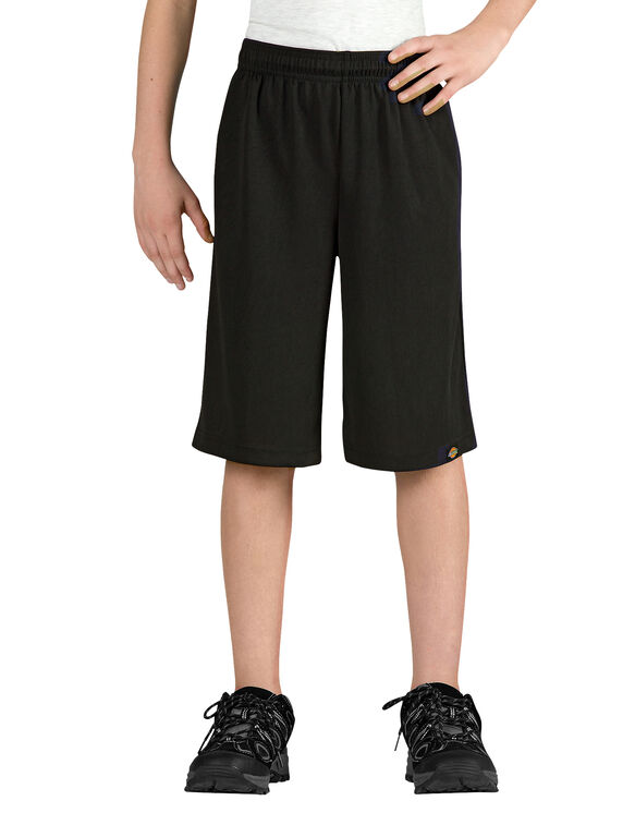 Boys' Mesh Short, 8-20 - BLACK (BK)