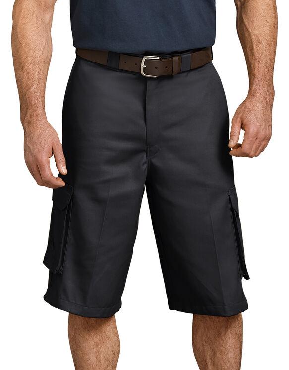 """13"""" Loose Fit Cargo Short - BLACK (BK)"""