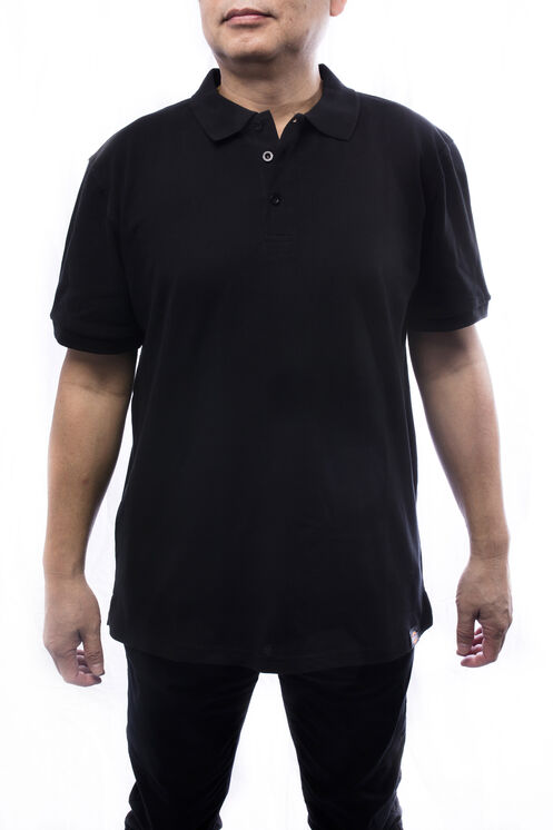 Polo a manches courter pour homme - Noir (BK)