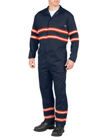 Enhanced Visibility Long Sleeve Coverall - DARK NAVY (DN)