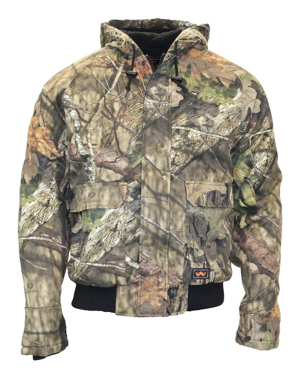 Men's Insulated Hooded Jacket - MOSSY OAK BREAKUP COUNTRY (MC9)
