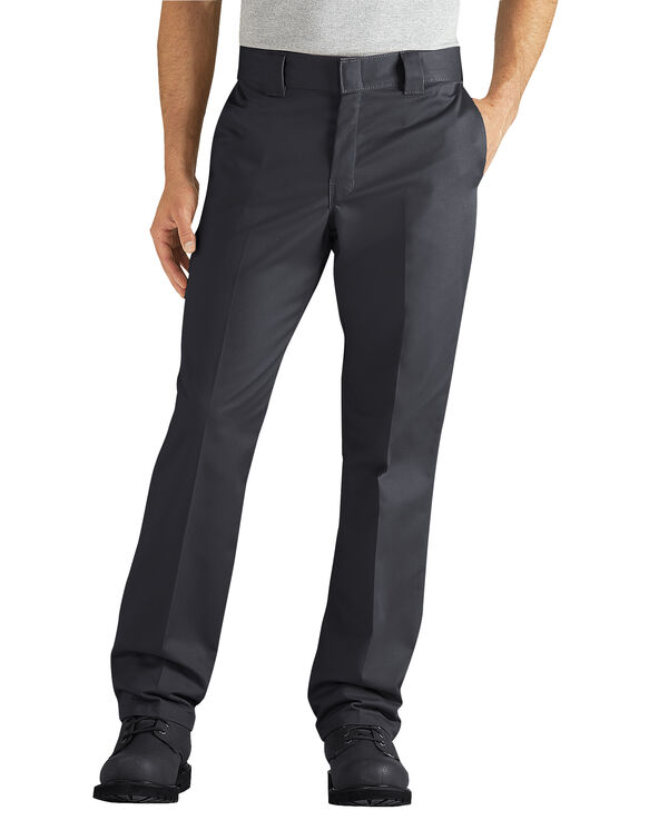 Regular Fit Taper Leg Ring Spun Work Pant - BLACK (BK)