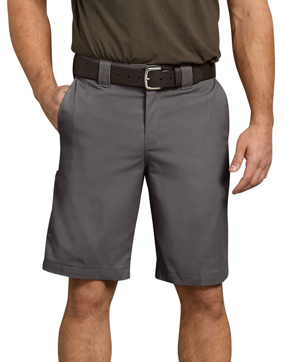 "Flex 11"" Relaxed Fit Work Short - GRAVEL GRAY (VG)"