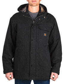 Walls® Workwear Hooded Parka with Kevlar® - MIDNIGHT BLACK (MK9)
