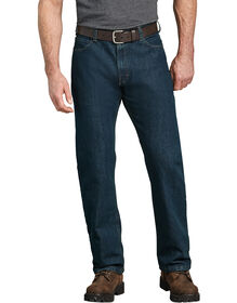 Tough Max™ Relaxed Fit Straight Leg 5-Pocket Denim Jean - TINTED HERITAGE KHAKI (THK)
