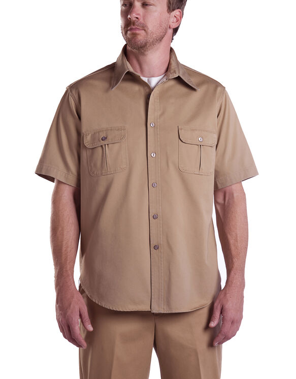 Dickies 1922 Short Sleeve Shirt - CRAMERTON SUN TAN (AS)