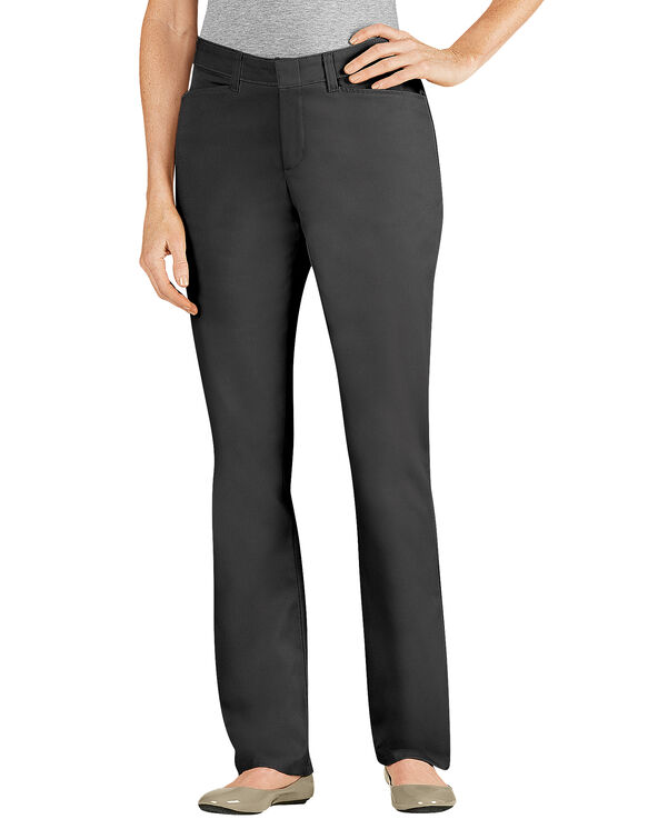 Women's Slim Fit Straight Leg Stretch Twill Pant