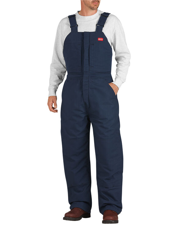 Flame-Resistant Insulated Duck Bib - NAVY (NV)