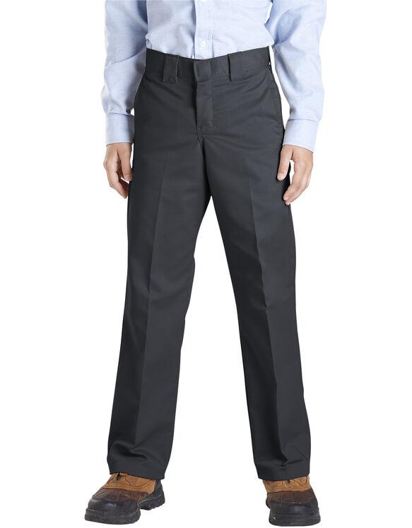 Boys' Slim Fit Straight Leg Pant, 4-7 - BLACK (BK)