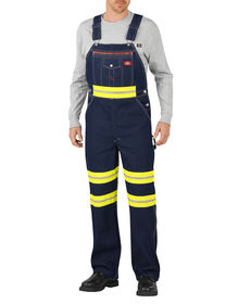 Enhanced Visibility Denim Bib Overall - INDIGO BLUE (NB)