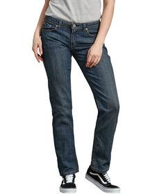 Women's Relaxed Straight Leg Denim Jean