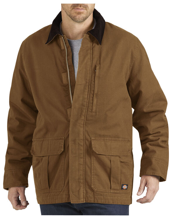 Sanded Duck Insulated Coat - RINSED BROWN DUCK (RBD)