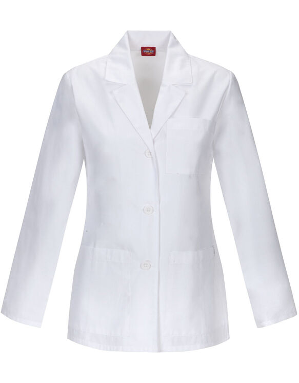 "Women's EDS Signature 28"" Lab Coat - DICKIES WHITE (DWH)"