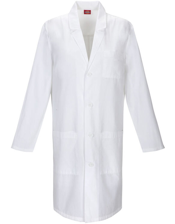 "Unisex EDS Signature 40"" Lab Coat with Certainty® - WHITE (WH)"