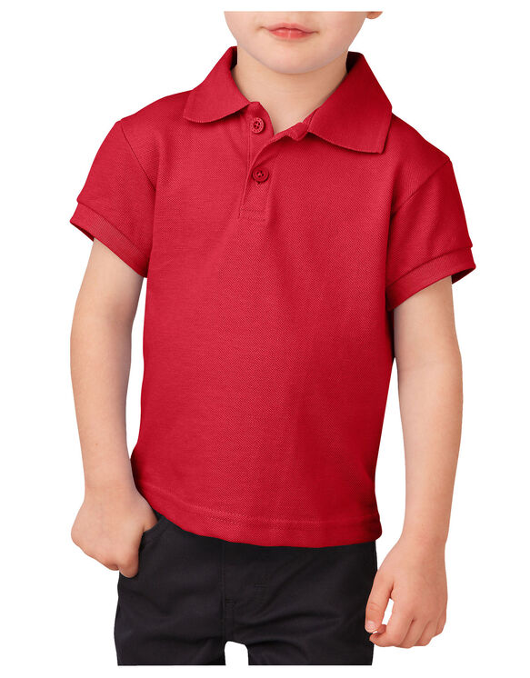 Toddler Short Sleeve Piqué Polo Shirt