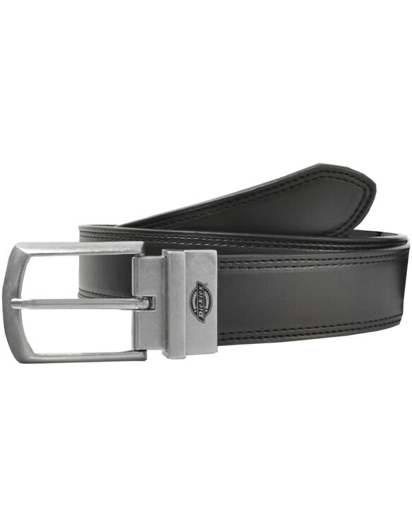 Leather Reversible Belt, Black/Brown - BLACK (BK)