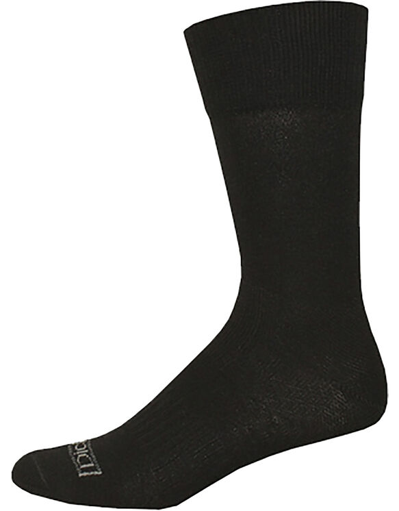 Industrial Strength Flatknit Crew, 3-Pack - BLACK (BK)