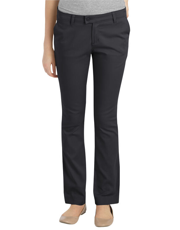 Juniors' Stretch Slim Straight Pant