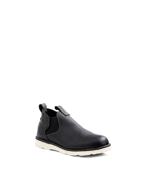Men's Bender Slip On Boots - BLACK-LICENSEE (BLK)