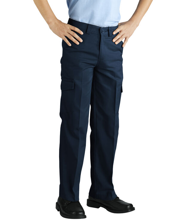 Boys' Cargo Pant - RINSED DARK NAVY (RDN)