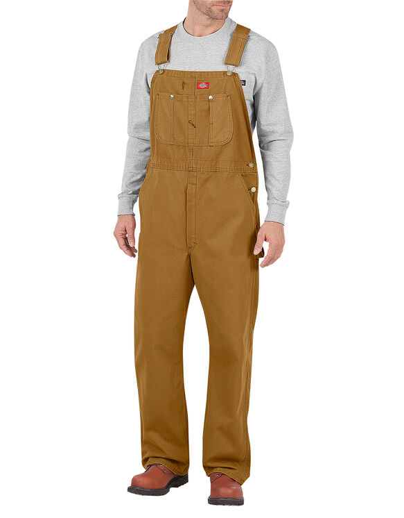 Bib Overall - RINSED BROWN DUCK (RBD)
