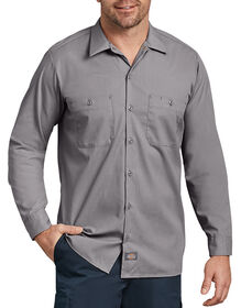 Long Sleeve Industrial Work Shirt - GRAPHITE GRAY (GG)