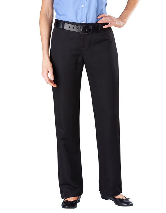 Women's Relaxed Fit Pocketless Micro Denier Pant - BLACK (BK)