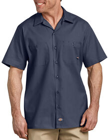 Short Sleeve Industrial Work Shirt - NAVY (NV)