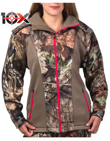 10X® Women's Lockdown Softshell Jacket - MOSSY OAK COUNTRY w/ FALCON TR (MCF9)