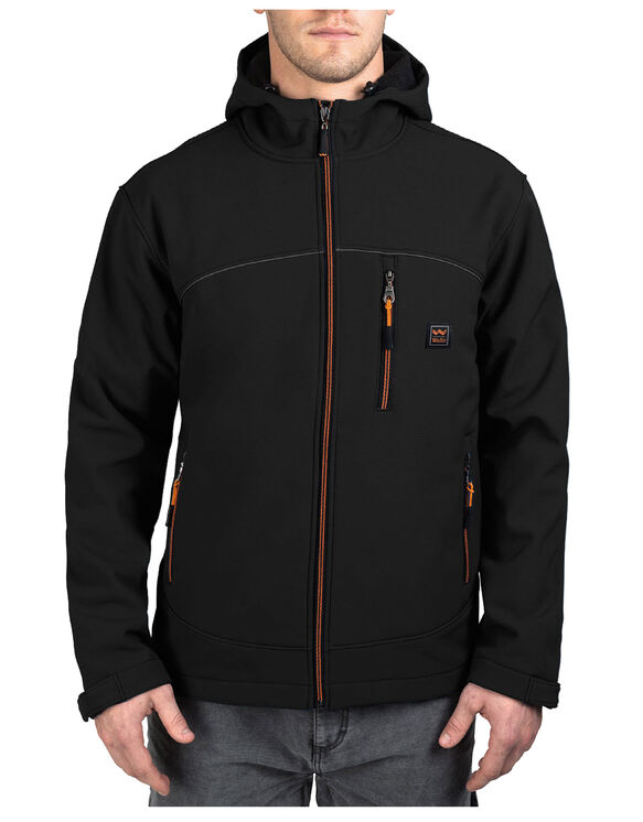 Walls® Storm Protector Hooded Solid Softshell Jacket - MIDNIGHT BLACK (MK9)