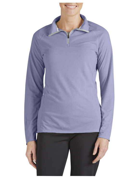 Women's Performance Quarter Zip drirelease® Pullover - FREESIA (FI)