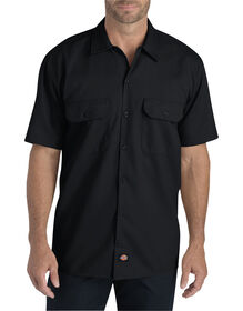 Flex Relaxed Fit Short Sleeve Twill Work Shirt