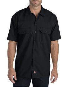 Flex Relaxed Fit Short Sleeve Twill Work Shirt