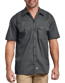Short Sleeve Work Shirt - CHARCOAL (CH)