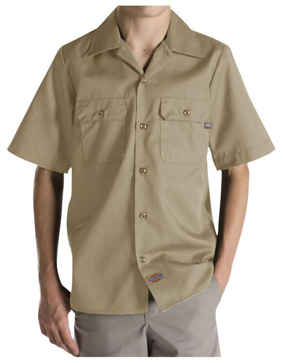 Boys' Twill Short Sleeve Shirt