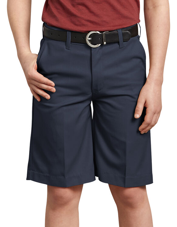 Boys' FlexWaist® Flat Front Short, 4-7 - DARK NAVY (DN)
