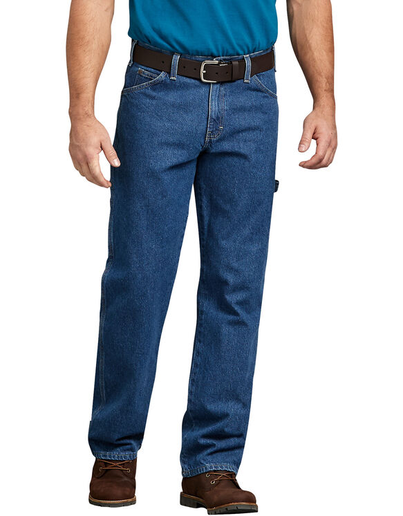 Relaxed Fit Carpenter Denim Jean - STONEWASHED INDIGO BLUE (SNB)