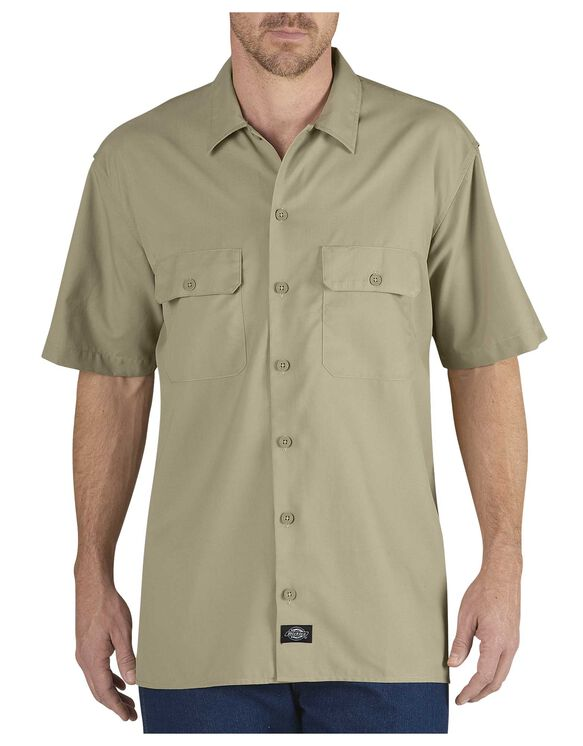 Performance Short Sleeve Ultimate Work Shirt - DESERT SAND (DS)