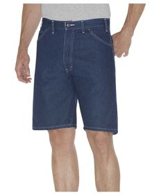 "9.5"" Relaxed Fit Carpenter Short - RINSED INDIGO BLUE (RNB)"