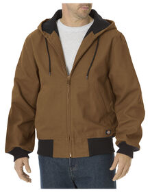 Sanded Duck Thermal Lined Hooded Jacket