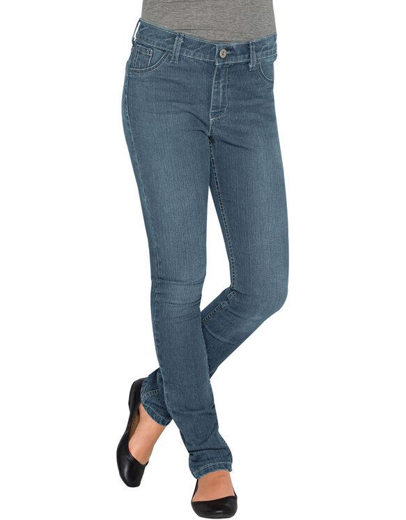 Girls' Super Skinny Fit Denim Jean, 7-16 - BLEACH STONEWASH (BST)