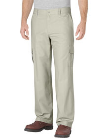 Relaxed Fit Straight Leg Ripstop Cargo Pant - RINSED STONE (RST)