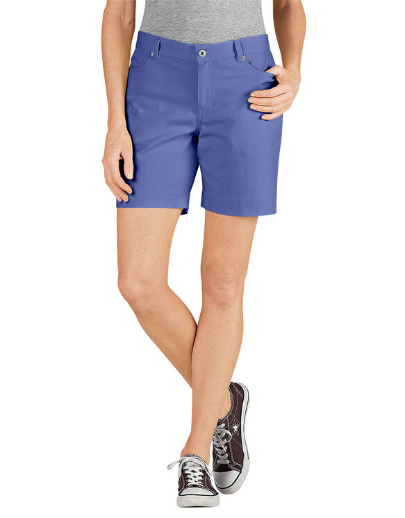 """Women's 7"""" Relaxed Fit Stretch Canvas Short"""