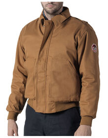 Walls® Flame Resistant Insulated Bomber Jacket - BROWN (BW9)