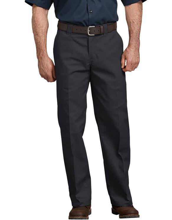 Flex Loose Fit Straight Leg Work Pant - BLACK (BK)