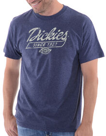 Dickies Fat Tail Graphic Short Sleeve Tee - BLUE HEATHER (UH)