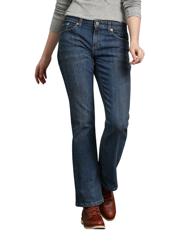 Women's Relaxed Boot Cut Denim Jean